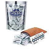 Lapurete 's  5 Gramm 50 Stück Silicagel Pakete Trockenmittel Luftentfeuchter (regenerierbar)