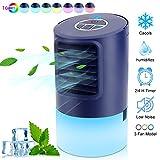 Mobile Klimageräte, Luftkühler Mini Klimaanlage, 4 in 1 Luftkühler Luftbefeuchtung Ventilator...
