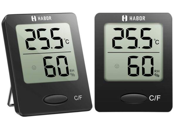 Luftfeuchtigkeit messen mit dem Habor Hygrometer