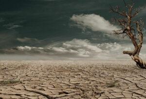 niedrige Luftfeuchtigkeit wie in der Wüste