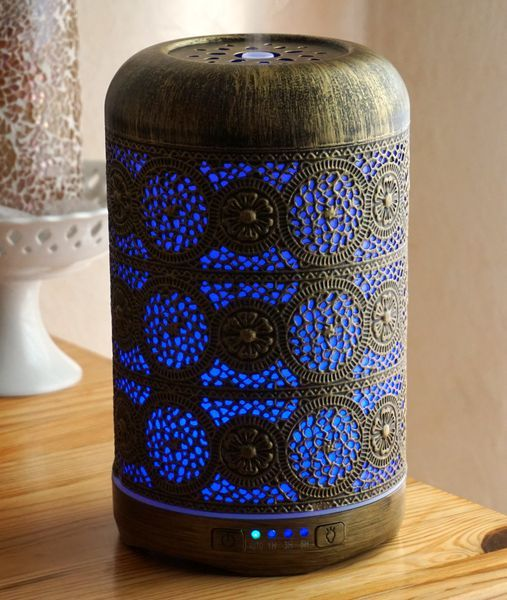 SALKING Luftbefeuchter mit blauem Licht