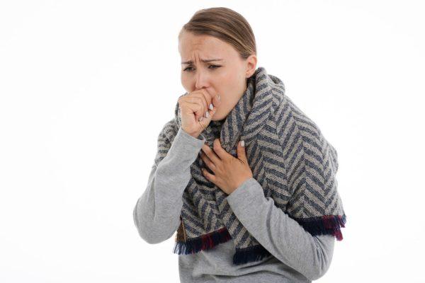 Husten und Erkältung durch trockene Luft