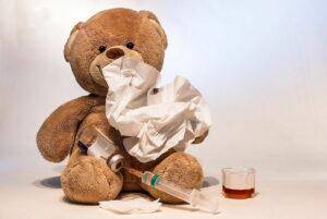 Luftbefeuchter bei Erkältung