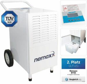Nemaxx BT55 Bautrockner Kondenstrockner Luftentfeuchter Raumentfeuchter