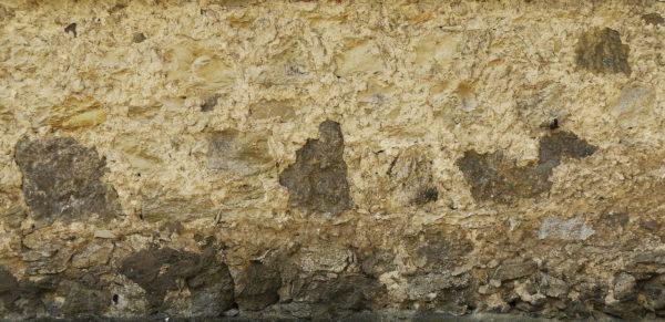 Putz an der Wand feucht